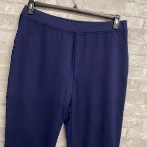 Roamans navy blue pants